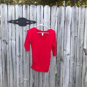 Medium red no boundaries blouse